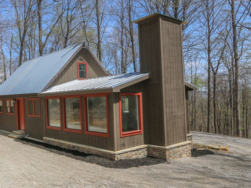 Cabin, Timber & 202 Ac in 3 Tracts : Monterey : Putnam County : Tennessee