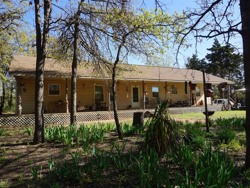 No Reserve Auction, Home 30 Ac : Carney : Lincoln County : Oklahoma