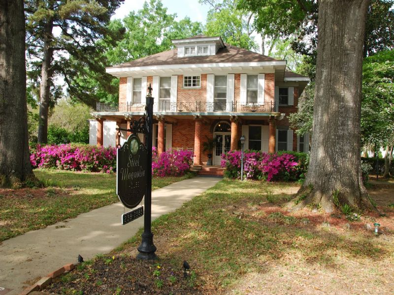 Historical Steel Magnolia House : Natchitoches : Natchitoches Parish : Louisiana
