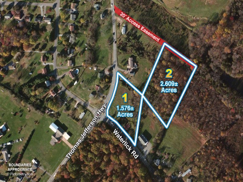 Corner Lot On Prime Intersection : Forest : Bedford County : Virginia