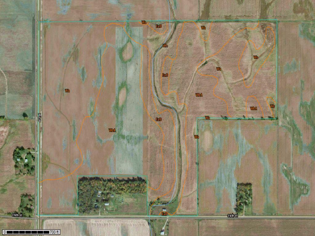 187 Acres, Farmland : Elk Point : Union County : South Dakota