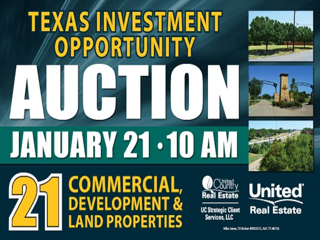 Incredible Investment Oppty Auction : Dallas : Dallas County : Texas