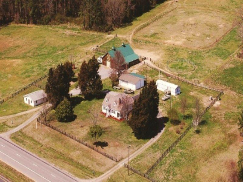 Equine Farm & Equipment Auction : Emporia : Greensville County : Virginia