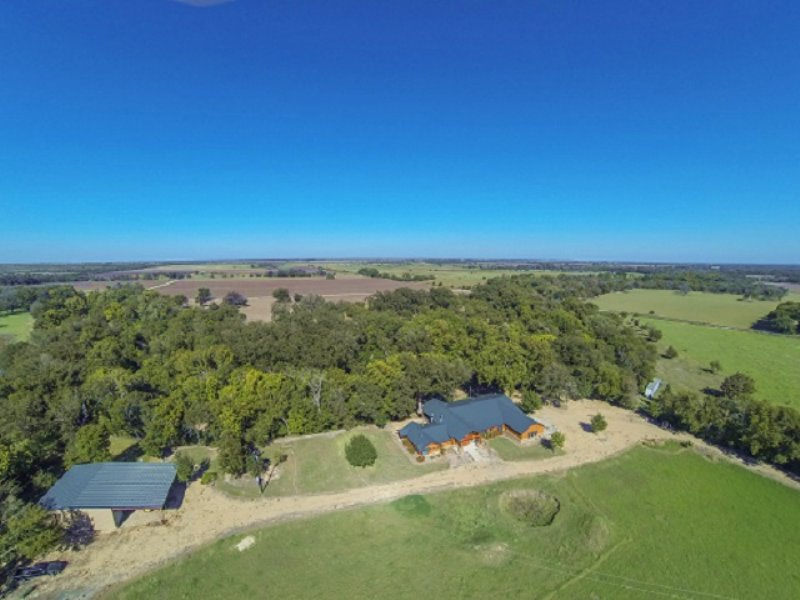 Auction - Riverfront Land & Home : Taylor : Williamson County : Texas