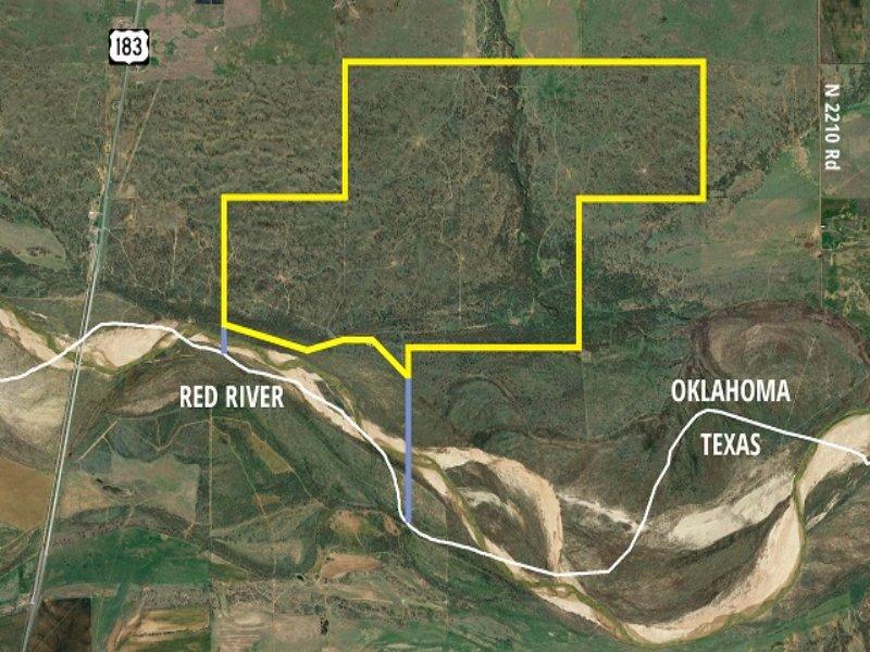 960± Acre Hunter's Paradise : Davidson : Tillman County : Oklahoma