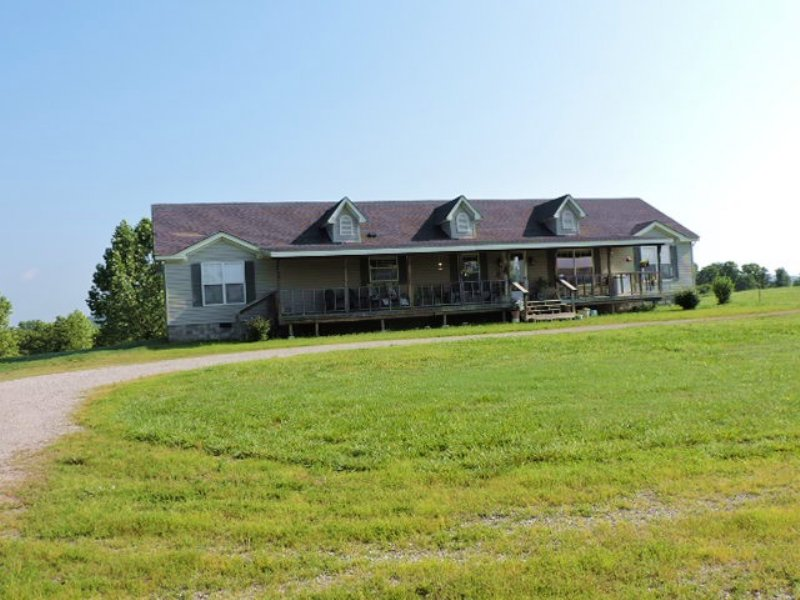 Secluded Retreat & Country Home : Gepp : Fulton County : Arkansas